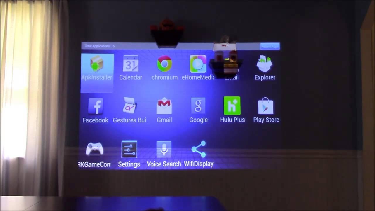 Aaxa Technologies Led Android Projector Menu Settings