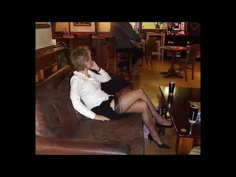 Mature wife in heels and stockings assfucked