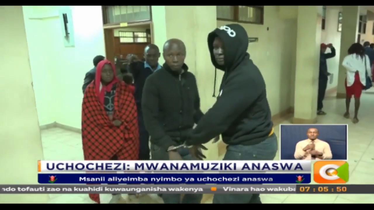 Msanii aliyeimba nyimbo ya uchochezi ashtakiwa