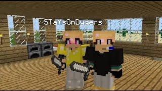 Выживание вдвоём в minecraft pe 0.14.0 железная шахта/кузница #3