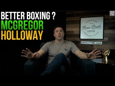 Who's the better boxer, Conor McGregor or Max Holloway?