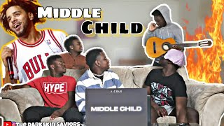 J. Cole - MIDDLE CHILD (Official Audio)(Reaction)