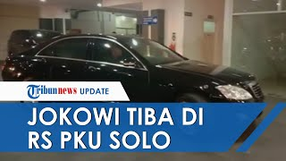Cucu Ketiga Lahir, Joko Widodo Datang ke RS PKU Muhammadiyah seusai Resmikan Tol Trans Sumatera