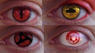 REAL LIFE Anime Eyes #2 (Mangekyou,...