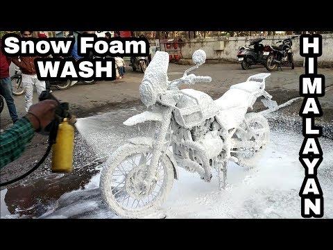 Foam Wash for Bikes | Royal Enfield complete Washing Steps | Himalayan wash | Engineer Singh