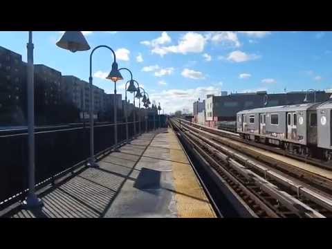 (4) train action at Mount Eden Avenue (IRT Jerome Avenue Line)!