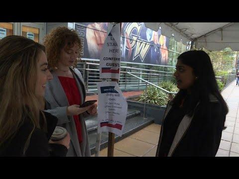 Paroles d'Américains sur la visite de Macron à Washington