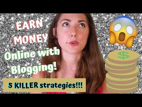 How to Earn Money Online With Blogging