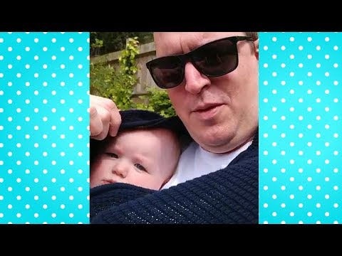 Funniest Daddy And Baby Moments #1 👨 Best Daddy Video