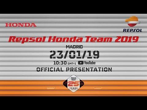 Repsol Honda Team 2019 Official Presentation Youtube