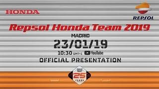 Repsol Honda Team 2019. Official Presentation