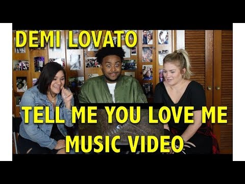 DEMI LOVATO- TELL ME YOU LOVE ME   REACTIONREVIEW