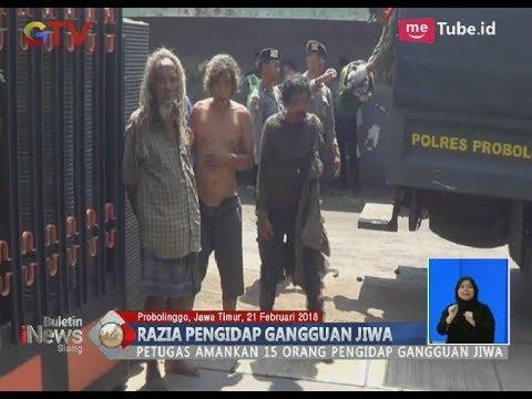 Marak Aksi Kekerasan Dilakukan Orang Gila, Polisi Gelar Razia Pengidap Gangguan Jiwa - BIS 21/02
