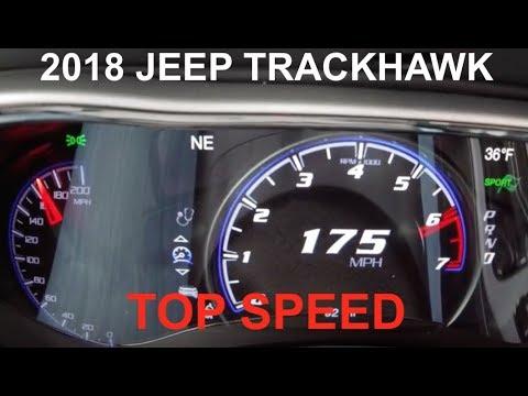 0-175 MPH JEEP TRACKHAWK TEST RUN