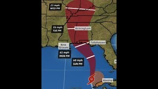 "Breaking ""Tropical Storm Alberto Threatens Florida To Louisiana"""