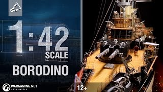 Video 1:42 Scale: Russian Battleship Borodino download MP3, 3GP, MP4, WEBM, AVI, FLV Juni 2018