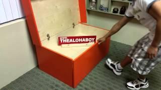 Nike Sneaker Shoe Storage Box By The Aloha Boy