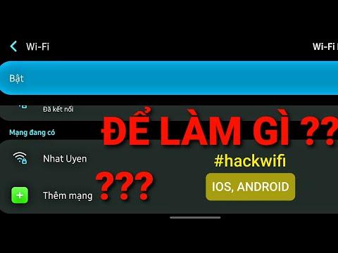 hack wifi được đặt mật khẩu theo chuẩn wpa wpa2 - Cách chống hack wifi bằng chức năng ẩn tên,  ✅THÊM MẠNG trên điện thoại di động  HACK WIFI   TuDi TV
