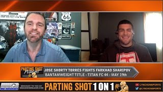 """Jose """"Shorty"""" Torres talks 135-pound title fight May 19th, training with TJ Dillashaw & making history"""