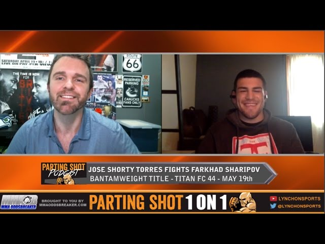 "Jose ""Shorty"" Torres talks 135-pound title fight May 19th, training with TJ Dillashaw & making history"