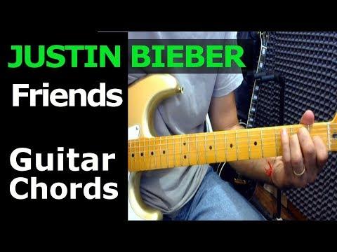 How To Play Justin Bieber Bloodpop Friends Guitar Chords