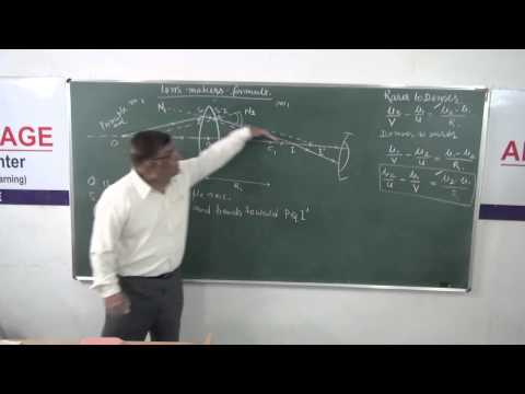 XII-7.7 Lens makers formula (2014) Pradeep Kshetrapal Physics