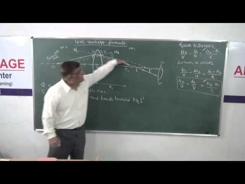 XII-7.7 Lens Makers Formula (2014) Pradeep Kshetrapal Physics