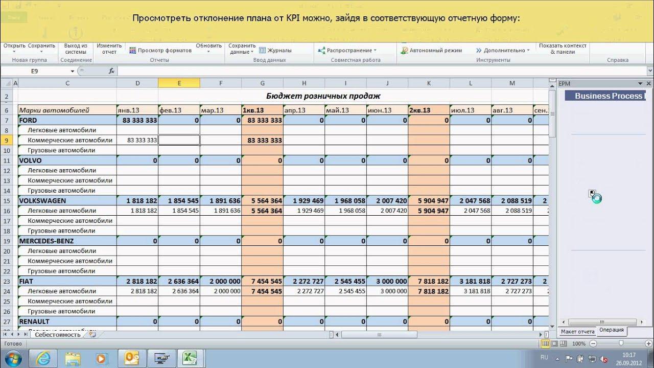 sap business planning consolidation pdf
