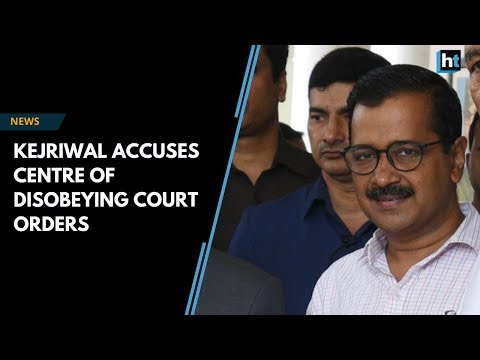 Arvind Kejriwal meets Delhi L-G, says Centre not obeying Supreme Court order Mp3