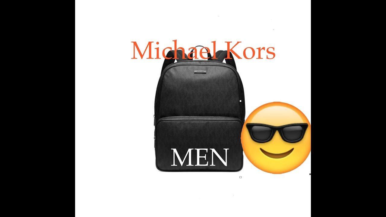 1ed4f97be038 Michael Kors Jet Set Backpack Review - YouTube