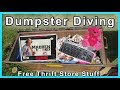 Dumpster Diving at Thrift Store #195