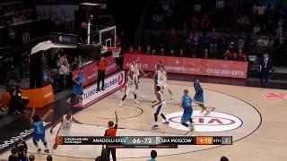 19.03.2019 / Anadolu Efes - CSKA Moskova / Vasilije Micic