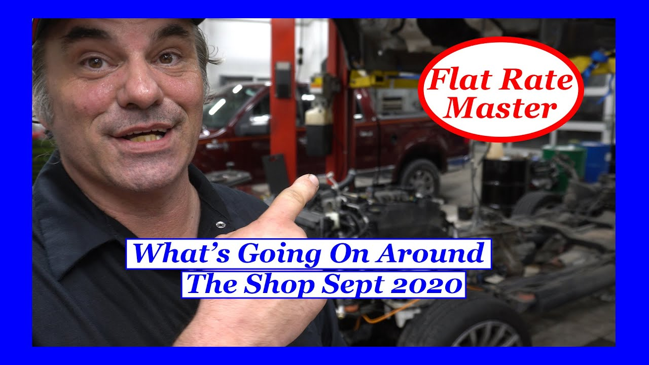 What's Going On Around the Shop Sept 2020