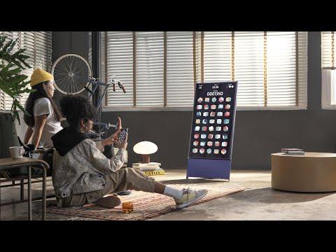 Уникальный поворотный телевизор Samsung The Sero поступил в продажу в России