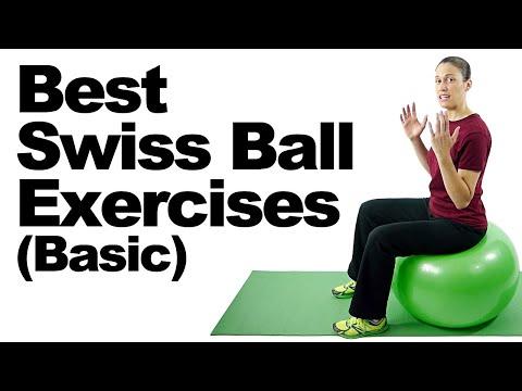 10 Best Swiss Ball Exercises (Basic) Ask Doctor Jo