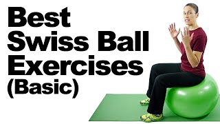 10 Best Swiss Ball Exercises (Basic) - Ask Doctor Jo