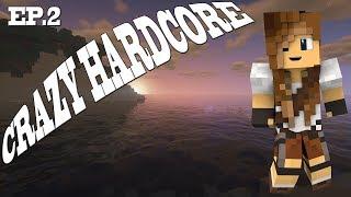 NA ZIACHÓD | Crazy hardcore #2 | Minecraft Hardcore 1.14.4