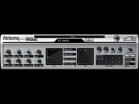 FREE synth/ROMpler plugin: Alchemy Player CM