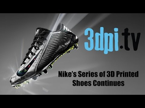 Nike's Series of 3D Printed Shoes Continue Doing It