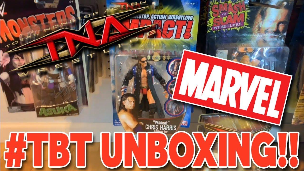 TNA Wrestling Impact  Wildcat Chris Harris Action Figure