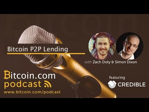 Bitcoin P2P Lending with Credible Friends
