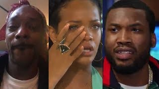 Celebs React To Nipsey Hussle's Death (ft. Snoop Dogg, Rihanna, Drake, Meek Mill & more)