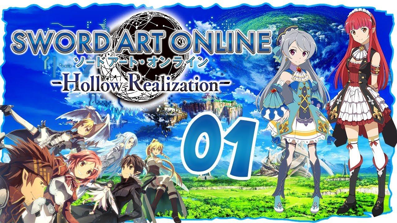 Willkommen in Sword Art Origin #01 | LET'S PLAY Sword Art Online: Hollow  Realization Deutsch