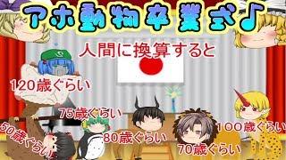 【ゆっくり茶番】アホ!動物さん卒業式♪【総集編】 thumbnail