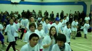 Inuit youth do the hustle- Inukjuaq  -Blueprintforlife 2012