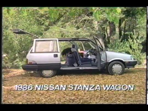 1986 Nissan Stanza Wagon Commercial - YouTube