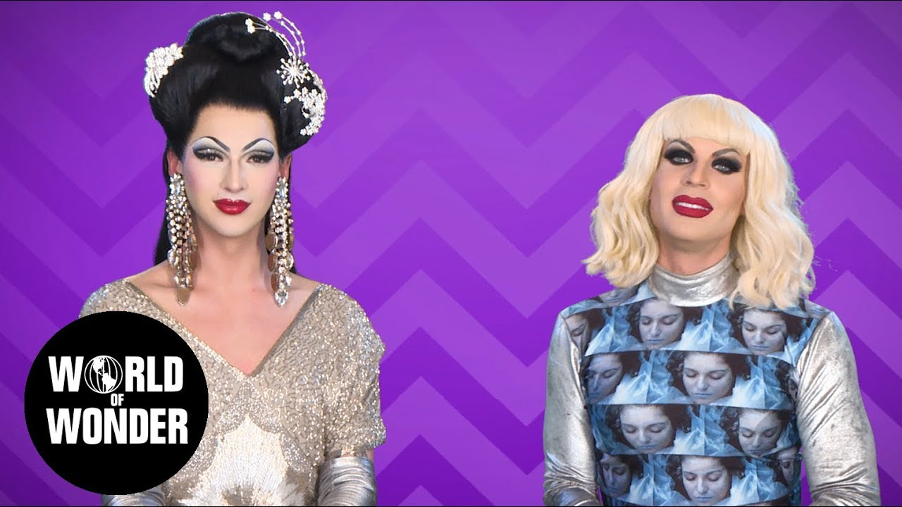 FASHION PHOTO RUVIEW: Taylor Swift Red Carpet with Violet Chachki & Katya!