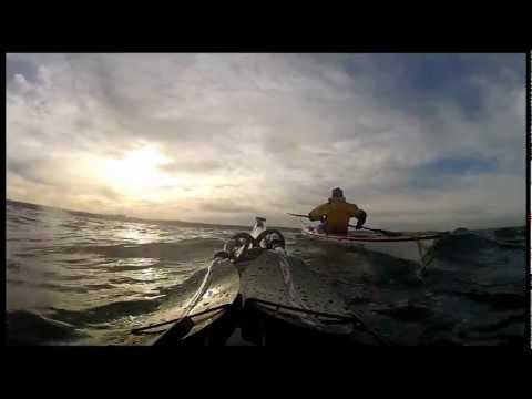 Return to the Bass Rock Sea Kayaking 28/01/12 Scotland