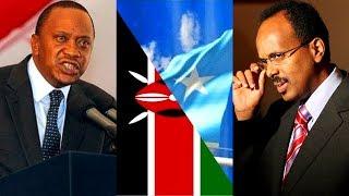Kenya oo Somalia Xiriirka U Jartay Iyo Villa Somalia oo Jawaab Kulul laga Sugayo.