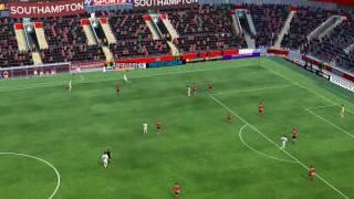 Southampton mot Man Utd - 46 minutter